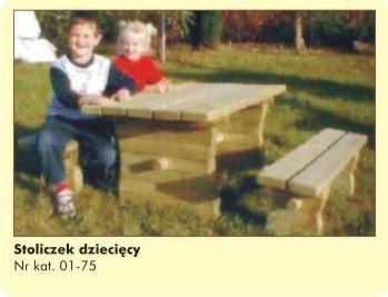 Stoliczek dziecięcy