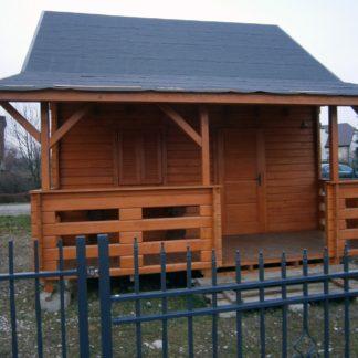Domek Drewniany Piętrowy Wojnicz