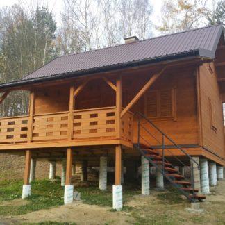 Domek Drewniany Całoroczny Zborowice
